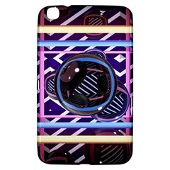 Abstract Sphere Room 3d Design Samsung Galaxy Tab 3 (8 ) T3100 Hardshell Case  by Amaryn4rt
