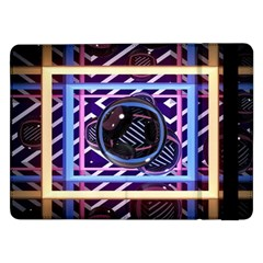 Abstract Sphere Room 3d Design Samsung Galaxy Tab Pro 12 2  Flip Case by Amaryn4rt