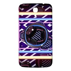 Abstract Sphere Room 3d Design Samsung Galaxy Mega I9200 Hardshell Back Case by Amaryn4rt
