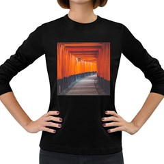 Architecture Art Bright Color Women s Long Sleeve Dark T Shirts