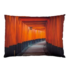 Architecture Art Bright Color Pillow Case (two Sides) by Amaryn4rt