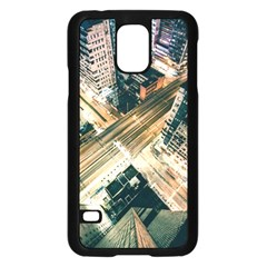 Architecture Buildings City Samsung Galaxy S5 Case (black) by Amaryn4rt
