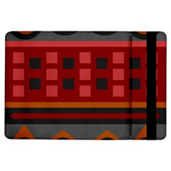 Red Aztec Ipad Air Flip by Jojostore
