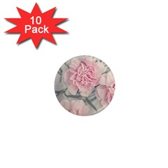 Cloves Flowers Pink Carnation Pink 1  Mini Magnet (10 Pack)  by Amaryn4rt
