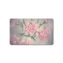 Cloves Flowers Pink Carnation Pink Magnet (name Card) by Amaryn4rt