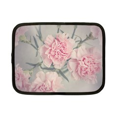 Cloves Flowers Pink Carnation Pink Netbook Case (small)  by Amaryn4rt