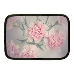 Cloves Flowers Pink Carnation Pink Netbook Case (medium)  by Amaryn4rt