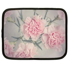 Cloves Flowers Pink Carnation Pink Netbook Case (xxl)  by Amaryn4rt