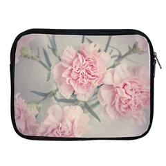 Cloves Flowers Pink Carnation Pink Apple Ipad 2/3/4 Zipper Cases by Amaryn4rt