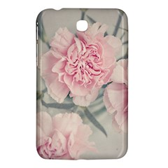 Cloves Flowers Pink Carnation Pink Samsung Galaxy Tab 3 (7 ) P3200 Hardshell Case