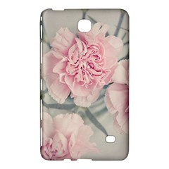 Cloves Flowers Pink Carnation Pink Samsung Galaxy Tab 4 (8 ) Hardshell Case  by Amaryn4rt