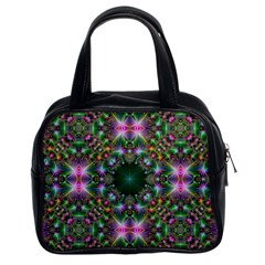 Digital Kaleidoscope Classic Handbags (2 Sides)