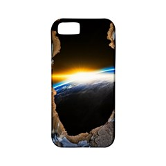 Door Breakthrough Door Sunburst Apple Iphone 5 Classic Hardshell Case (pc+silicone)