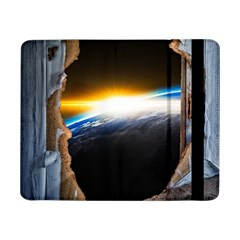 Door Breakthrough Door Sunburst Samsung Galaxy Tab Pro 8 4  Flip Case by Amaryn4rt