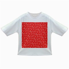 Red Alphabet Infant/toddler T Shirts by Jojostore