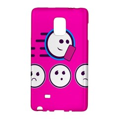 Run Face Pink Galaxy Note Edge by Jojostore