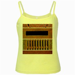 Stainless Structure Collection Yellow Spaghetti Tank