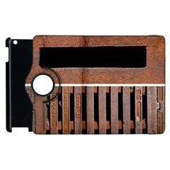 Stainless Structure Collection Apple Ipad 3/4 Flip 360 Case by Amaryn4rt