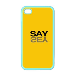 Say Yes Apple Iphone 4 Case (color) by Jojostore
