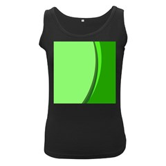 Simple Green Women s Black Tank Top