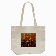 Ice Iced Structure Frozen Frost Tote Bag (cream)
