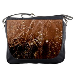 Ice Iced Structure Frozen Frost Messenger Bags