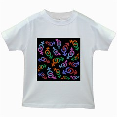 Sexsymbol Kids White T Shirts