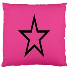 Star Standard Flano Cushion Case (one Side) by Jojostore