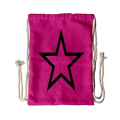 Star Drawstring Bag (small)