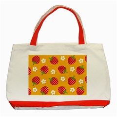 Strawberry Classic Tote Bag (red)