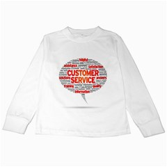 Support Kids Long Sleeve T Shirts