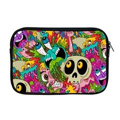 Sick Pattern Apple Macbook Pro 17  Zipper Case