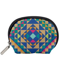 Tiling Pattern Accessory Pouches (small)