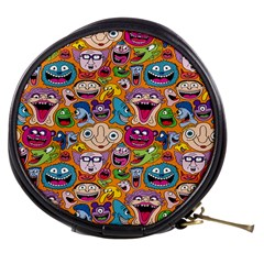 Smiley Pattern Mini Makeup Bags by Jojostore