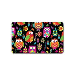 Ultra Soft Owl Magnet (name Card) by Jojostore