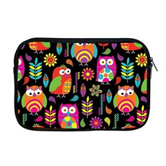Ultra Soft Owl Apple Macbook Pro 17  Zipper Case by Jojostore