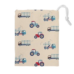 Truck Drawstring Pouches (extra Large)