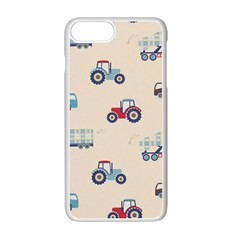 Truck Apple Iphone 7 Plus White Seamless Case by Jojostore