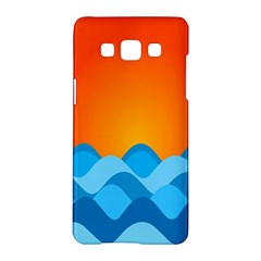 Water Orange Samsung Galaxy A5 Hardshell Case