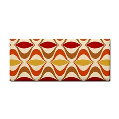 Wave Orange Red Yellow Rainbow Cosmetic Storage Cases by Jojostore