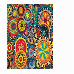 Tumblr Static Colorful Large Garden Flag (two Sides) by Jojostore