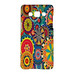 Tumblr Static Colorful Samsung Galaxy A5 Hardshell Case  by Jojostore
