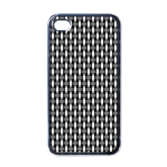 Webbing Woven Bamboo Apple Iphone 4 Case (black)