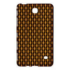 Webbing Woven Bamboo Orange Yellow Samsung Galaxy Tab 4 (7 ) Hardshell Case  by Jojostore