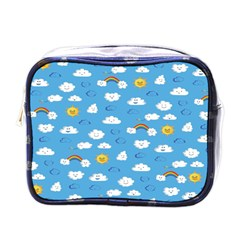 White Clouds Mini Toiletries Bags