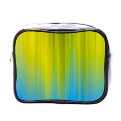 Yellow Blue Green Mini Toiletries Bags