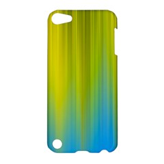 Yellow Blue Green Apple Ipod Touch 5 Hardshell Case by Jojostore