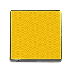 Yellow Flower Memory Card Reader (square) by Jojostore