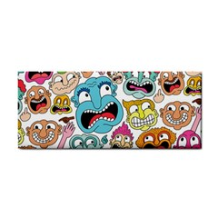 Weird Faces Pattern Cosmetic Storage Cases by Jojostore