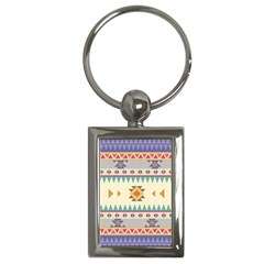 Your First Aztec Pattern Key Chains (rectangle)  by Jojostore